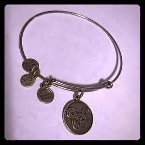 Alex & Ani Mickey Filgree Silver Bracelet 2014